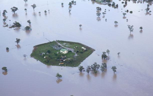 Flooded Farm: Australia