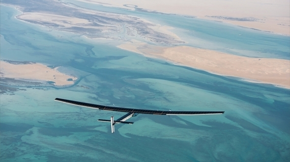 The solar powered plane that circled the globe